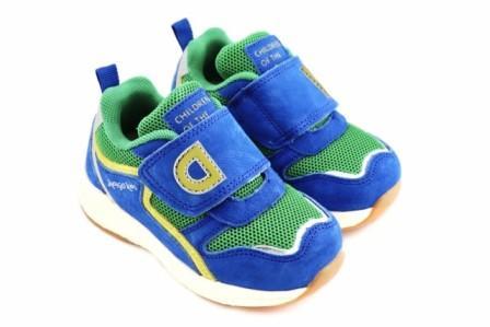 """П/ботинки детские TM""""INDIGO KIDS"""" , р.23-26  90-500L/10 синий/зеленый  (поступление 18.02.2021г.) цена 2300руб."""