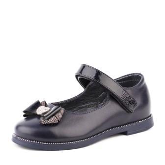 Shagovita Туфли для девочки темно-синий 20СМФ 29-31 Девочка  43194 темно-синий  (поступление 31.07.2020г.) цена 2400руб.