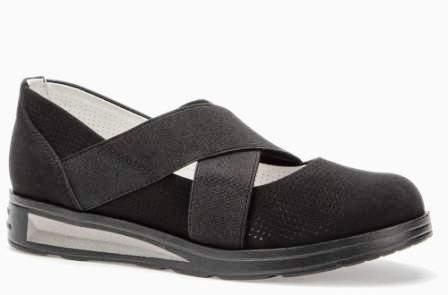 BETSY 908307/05-01 черный иск.нубук/текстиль детские (для девочек) туфли  (поступление 14.08.2020г.) цена 2050руб.