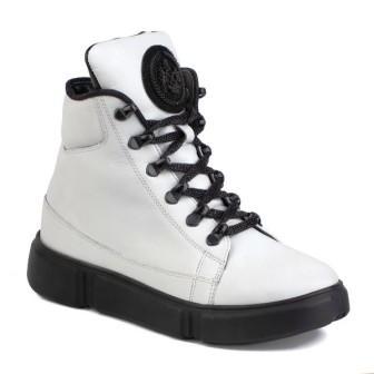 Shagovita  Ботинки для девочки 20СМФ 38-40 Девочка белый  65199Б-1  (поступление 10.09.2020г.) цена 3800руб.