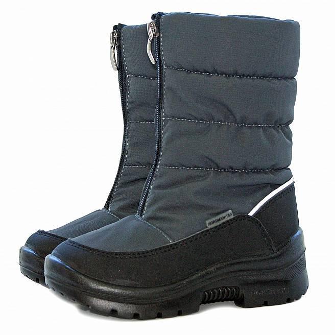 Nordman Gloss сапоги дошкольные темно-серые (27-31)  2-045-B01 темно-серые  (поступление 02.10.2020г.) цена 3300руб.