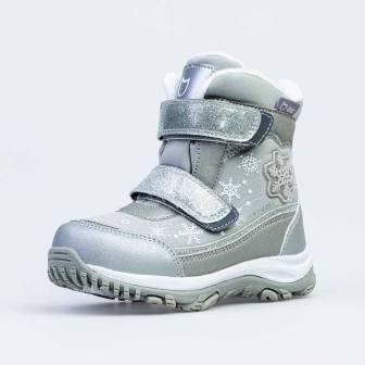 КОТОФЕЙ 454809-47 сер-срб ботинки дошкольные Комбинирован., 27-31 (поступление 30.10.2020г.) цена 3250руб.
