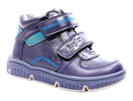 KAPIKA Ботинки р.23-27,  51328у-1 (синий) (поступление 20.03.2021г.) цена 3200руб.