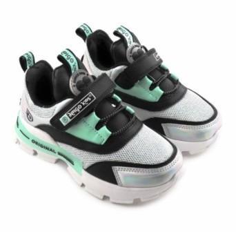 """П/ботинки детские TM""""INDIGO KIDS"""" размеры 25-30  артикул 92-030B/10 (белый/черный) (поступление 05.04.2021г.) цена 2050руб."""
