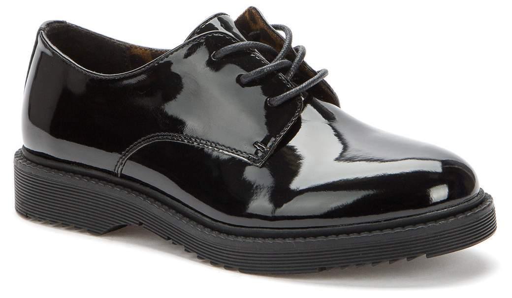 KEDDO  518133/06-01 черный детские (для девочек) полуботинки (поступление 27.07.2021г.) цена 2250руб.