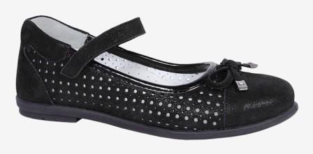 KAPIKA Туфли (черный) р.29-33  22774т-2 (поступление 06.08.2021г.) цена 3590руб.