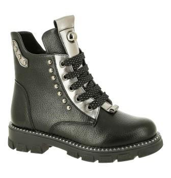 KENKÄ  BRR_328-7_black ботинки (поступление 27.08.2021г.) цена 2490руб.