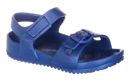 KAPIKA Туфли летние  р.30-35  83145-1 (синий) (поступление 31.05.2021г.) цена 700руб.