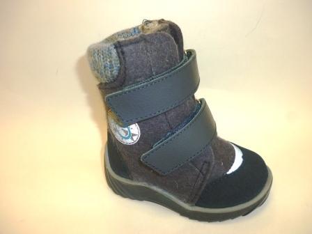 КОТОФЕЙ 157006-42 синий ботинки ясельно-малодетские войлок, 21-24  (поступление 27.09.2019г.)  цена  2600руб.