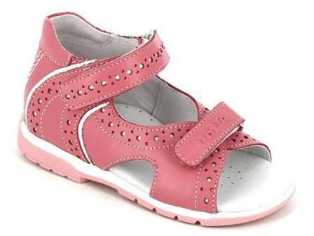 ТОТТА Туфли  открытые малодетские, М0216/1-кожанная подкладка, открытый носок; 117,99 (м0216/1-КП-117,99 пион) (поступление 25.05.2020г.)  цена  2080руб.