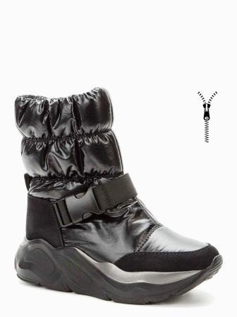 BETSY 908330/07-01 черный нейлон/иск.нубук детские (для девочек) ботинки (поступление 30.09.2020г.) цена 3650руб.