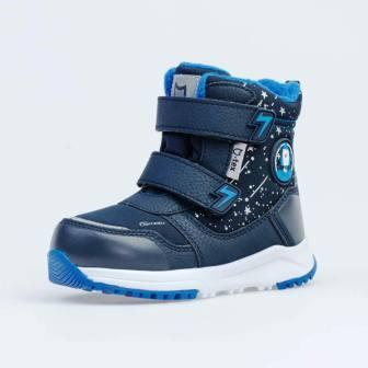 КОТОФЕЙ 454833-42 синий ботинки дошкольные Комбинирован., 27-31 (поступление 30.10.2020г.) цена 3250руб.
