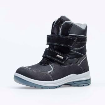 КОТОФЕЙ 654982-44 черный ботинки школьные Комбинирован., 32-35 (поступление 14.11.2020г.) цена 3400руб.