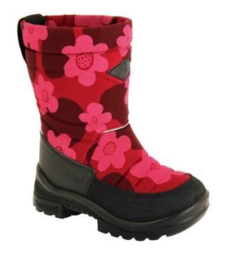KUOMA 1203 0826 Putkivarsi сапоги детские утепленные, борд.цветы(поступление 16.11.2020г.) цена 5400руб.