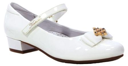 KAPIKA  Туфли (белый) 31-36  23674п-1 (поступление 07.12.2020г.) цена 1990руб.