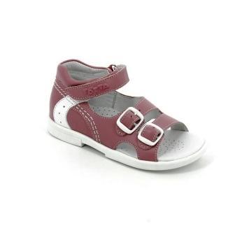 ТОТТА МТуфли открытые детские, 10212/2-кожанная подкладка, открытый носок; 217,99  (10212/2-217,99 ирис) (поступление 11.02.2021г.) цена 2490руб.
