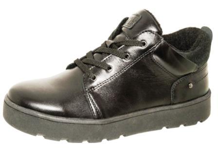 Лель Ботинки школьные байка (черный)  м 6-1638 (черный)  (поступление 17.02.2021г.) цена 4300руб.