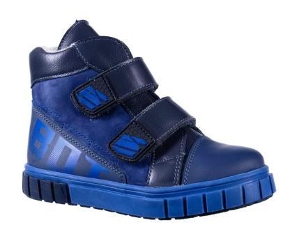 Bottilini Ботинки цвет (байка) (р.27-31)  BL-290(1) синий  (поступление 27.02.2021г.) цена 3200руб.