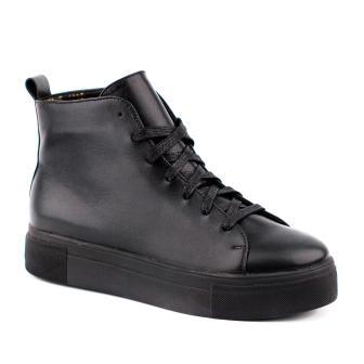 Shagovita Ботинки для школьников девочек 21СМФ 35-37   65255Б черный (поступление 04.03.2021г.) цена 3700руб.