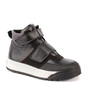 Shagovita 55305 Б Ботинки для мальчика 21СМФ  черный (32-37)  (поступление 19.03.2021г.) цена 3990руб.