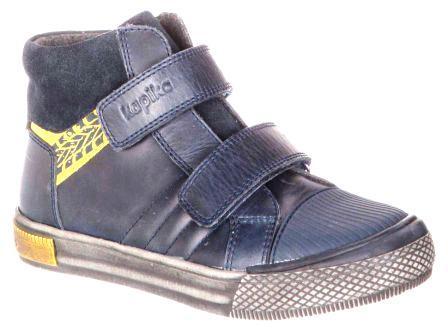 KAPIKA Ботинки р. 31-35,  53303у-4 (синий) (поступление 20.03.2021г.) цена 3800руб.