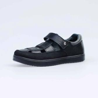 КОТОФЕЙ 532174-26 черный туфли дошкольно-школьные нат. кожа, 31-35 (поступление 19.07.2021г.) цена 3300руб.