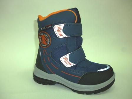КОТОФЕЙ 454985-41 син-ора ботинки дошкольные комбинирован., 27-31  (поступление 25.10.2019г.)  цена  3200руб.
