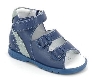 ТОТТА Туфли  открытые малодетские, МЕД 024-1-кожанная подкладка, открытый носок; 3,09 (МЕД024-1-КП-3,09 джинс/голуб) (поступление 25.05.2020г.)  цена  2080руб.