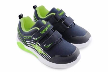 """П/ботинки детские TM""""INDIGO KIDS"""" , р. 25-30  91-006B/12 синий/зеленый  (поступление 18.02.2021г.) цена 2200руб."""
