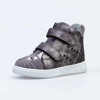 КОТОФЕЙ 354029-31 серый ботинки малодетско-дошкольные комбинирован  (поступление 11.09.2020г.) цена 2300руб.