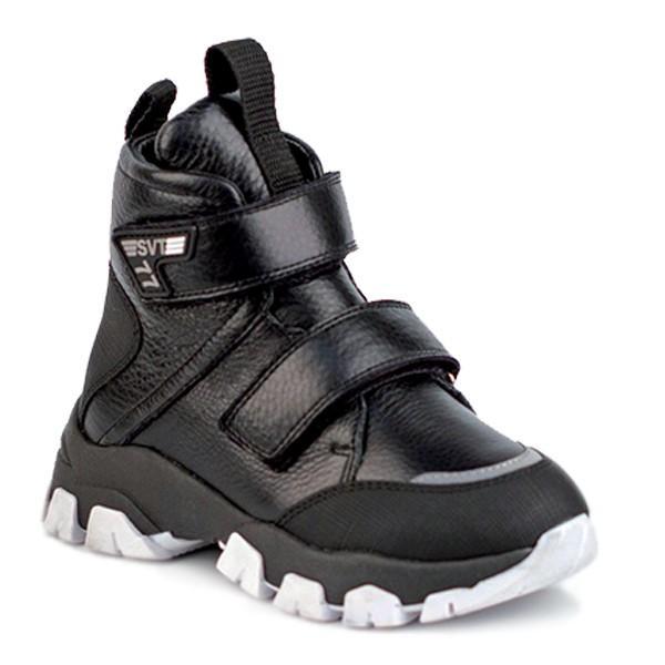 Shagovita  Ботинки для мальчика черный 20СМФ 32-37 Мальчик  55295ш черный (поступление 02.10.2020г.) цена 4250руб.