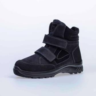 КОТОФЕЙ 652153-51 черный ботинки школьные нат. кожа, 32-35 (поступление 06.10.2020г.) цена 4200руб.