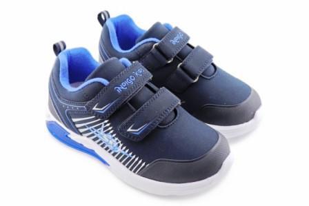 """П/ботинки детские TM""""INDIGO KIDS"""" р.25-30,  91-006A/12 синий (поступление 07.05.2021г.) цена 2200руб."""