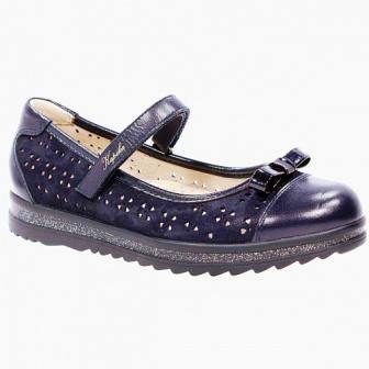 KAPIKA Туфли,32-35  арт. 23598-2 (синий) (поступление 21.07.2021г.) цена 3150руб.