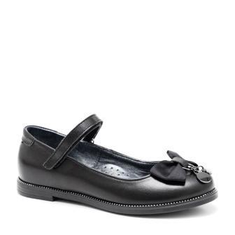 Shagovita  63279 Туфли для девочки 21СМФ черный (32-37) (поступление 21.07.2021г.) цена 3350руб.