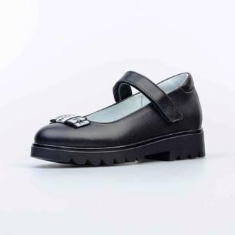 КОТОФЕЙ 532268-21 черный туфли дошкольно-школьные нат. кожа, 30-35 (поступление 30.07.2021г.) цена 3100руб.