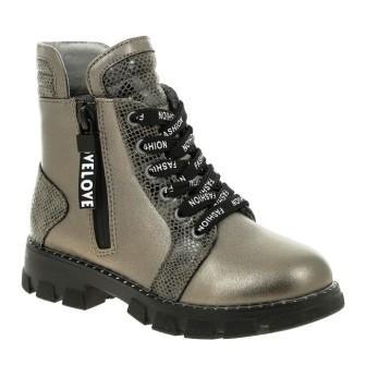 KENKÄ ДЕМИ LRG_21-160_bronze ботинки (поступление 27.09.2021г.) цена 2200руб.