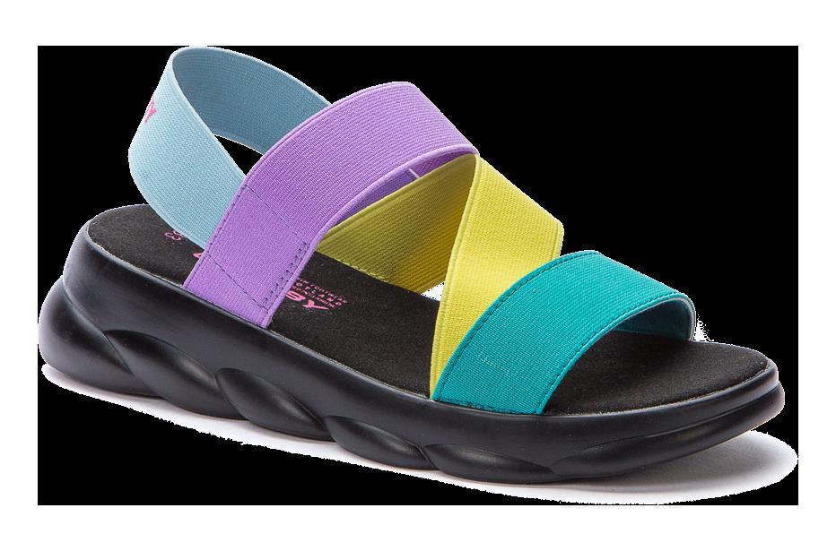 CROSBY 217200/01-07 бирюзовый текстиль детские (для девочек) туфли открытые (поступление 07.05.2021г.) цена 2400руб.