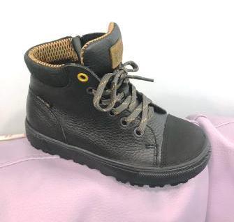 Лель  м 3-1560 Ботинки дошкольные байка (черный)  м 3-1560  (поступление 02.09.2019г.)  цена  3150руб.