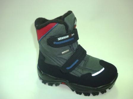 SKANDIA ботинки детские , цвет серый амаркорд(TuonoAmarcord_BlackGrey),  размер 30-34, (Арт. 9310R) (поступление 24.09.2019г.)  цена  5300руб.
