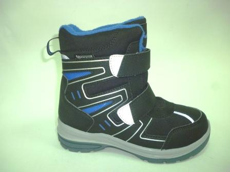 КОТОФЕЙ 654984-41 чер-сер ботинки школьные комбинирован., 32-35  (поступление 17.10.2019г.)  цена  3350руб.
