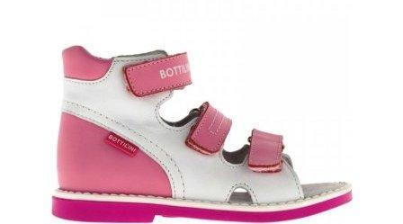 Bottilini Сандалии цвет розово-белый (р.22-25)  SO-157(9) (поступление 02.10.2020г.) цена 2250руб.