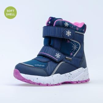 КОТОФЕЙ 654820-41 синий ботинки школьные Комбинирован., 32-35 (поступление 06.10.2020г.) цена 3300руб.