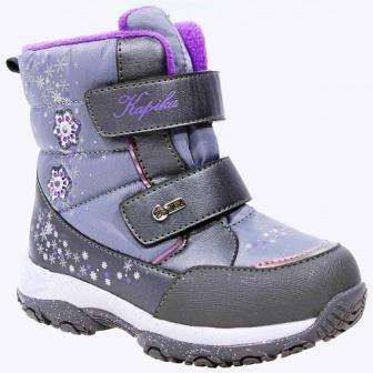 KAPIKA Ботинки (серый) 24-29  42387-2  (поступление 22.10.2020г.) цена 3100руб.