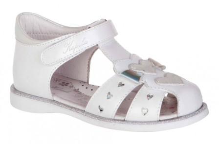 KAPIKA Туфли летние (белый) р.25-29  32615-1 (поступление 07.12.2020г.) цена 2600руб.