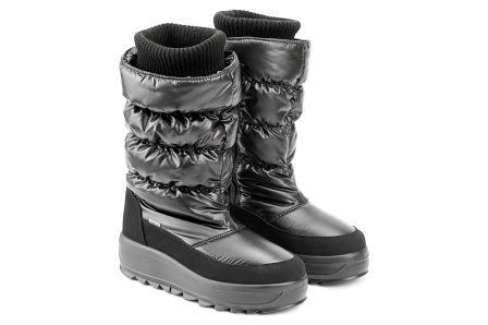 SKANDIA сапоги женские, цвет черный балтико,  размеры 36-39, (Арт. 12153DR) (поступление 23.09.2021г.) цена 7700руб.