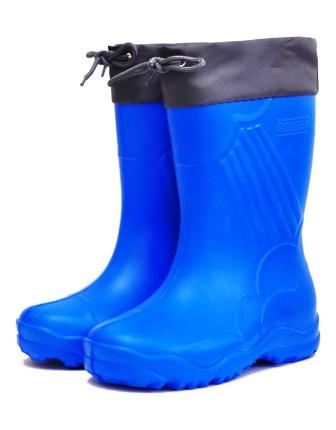 Nordman Sun сапоги школьные из ЭВА, с манжетой, утепленные, 3-122-B01 синие (поступление 15.03.2021г.) цена 550руб.