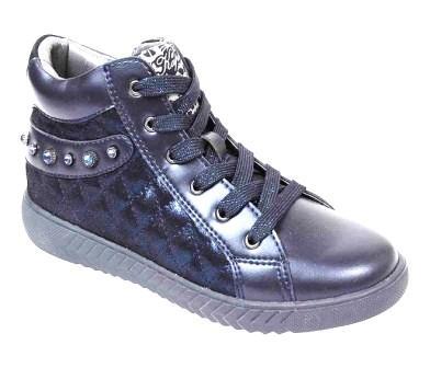 KAPIKA Ботинки р.34-38, 54425ук-2 (синий) (поступление 20.03.2021г.) цена 3800руб.