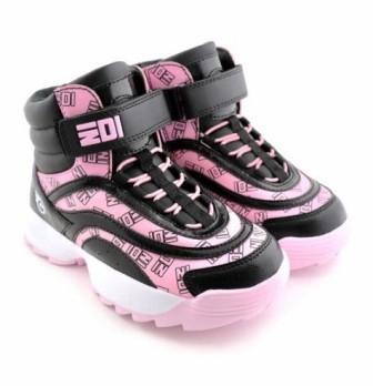 """Ботинки детские TM""""INDIGO KIDS"""" размеры 27-32 артикул 98-002C/12 (черный/розовый) (поступление 05.04.2021г.) цена 2350руб."""