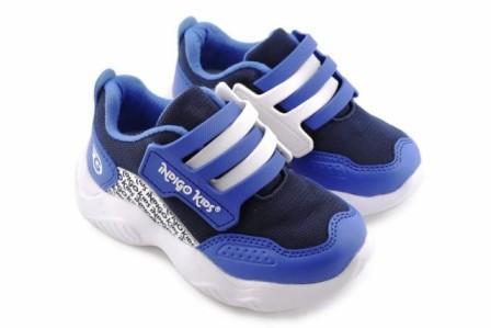 """П/ботинки детские TM""""INDIGO KIDS"""" р.25-30,  92-010E/10 синий/белый (поступление 07.05.2021г.) цена 1900руб."""